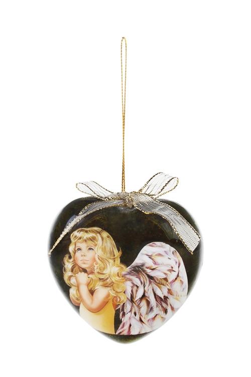 Шар елочный Девочка-ангелПодарки<br>Д=10см, пенопласт, бум.<br>