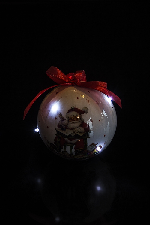 """Украшение елочное светящееся """"Дед Мороз отвечает на письма"""""""