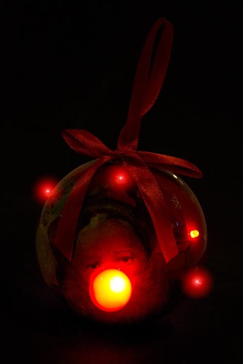 """Украшение елочное светящееся """"Волшебный Дед Мороз"""" - 2"""