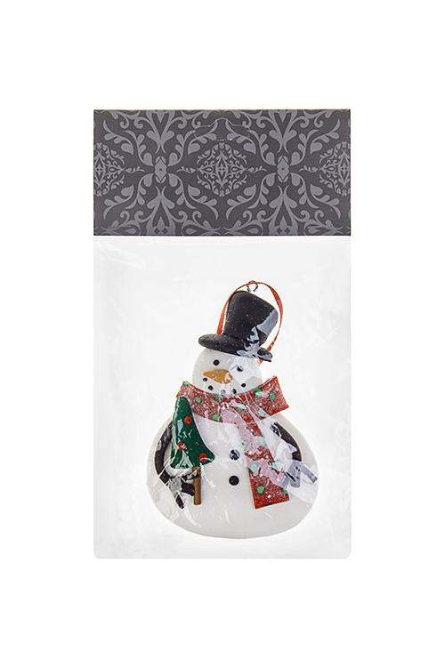 """Украшение новогоднее """"Сладкий снеговик"""""""