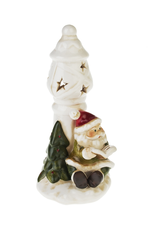 """Украшение новог. светящ. """"Дед Мороз у фонаря"""" - 2"""
