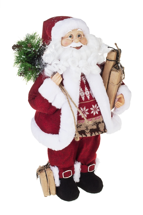 """Украшение новогоднее """"Дед Мороз с подарками"""""""