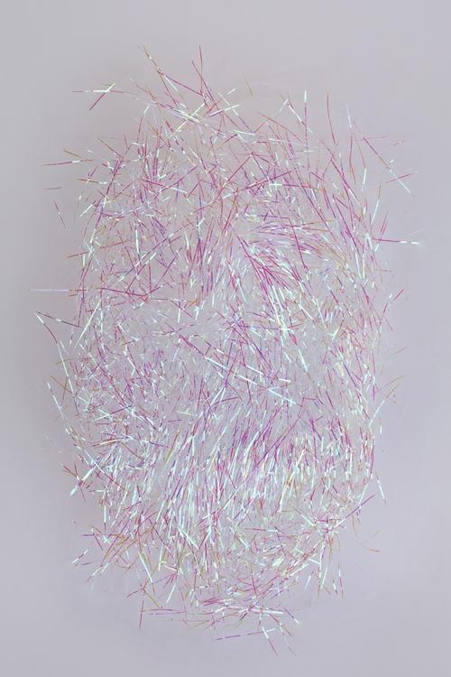 Украшение елочное ДождикПодарки<br>20г, фольга, белое, с блестками<br>