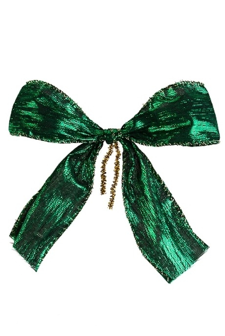 Набор бантов БантикиДекоративные гирлянды и подвески<br>6-предм., Ш=4см, текстиль, зеленый<br>