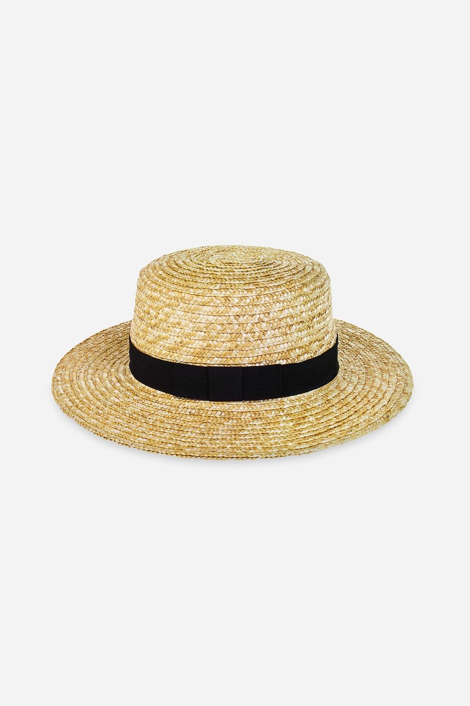 Шляпа Канотье-3Подарки для женщин<br>Состав: 100% натур. материал<br>
