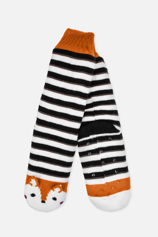Носки домашние детские ЛисаМатериал: 100% акрил<br>