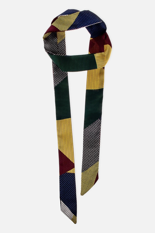 Шарф-галстук ФрэниТонкий шарф. Размер 15*150см. Состав: 100% полиэстер<br>