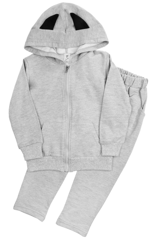 Толстовка со штанами детская Маленький БэтменПодарки детям<br>Материал: 100% хлопок. Костюм состоит из штанов и толстовки. На спинке толстовка декорирована объемными крыльями. Размер: до 110см.<br>