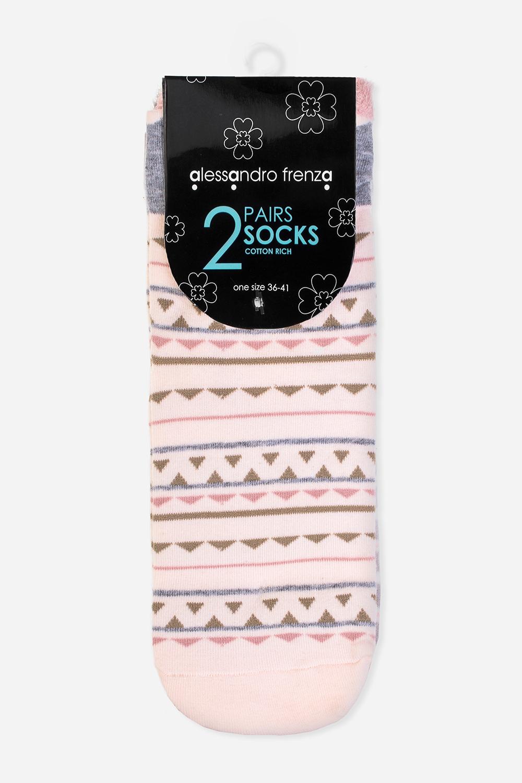 Набор носков ФорестНабор из двух пар носков. Материал: хлопок/эластан. Размер 36-41<br>
