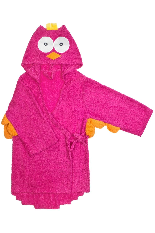 Халат-полотенце детский СовикПодарки<br>Материал: 100% хлопок. Размер халата подойдет ребенку от 5 до 6 лет. Длина по спинке 65см.<br>