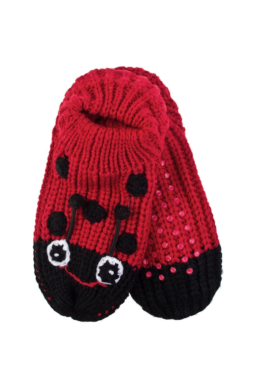 Носки домашние детские Божья коровкаРаспродажа Black Friday<br>Носки домашние детские. Материал: 100% акрил. Подошва с резиновыми вставками. Размер: XS (25-30)<br>