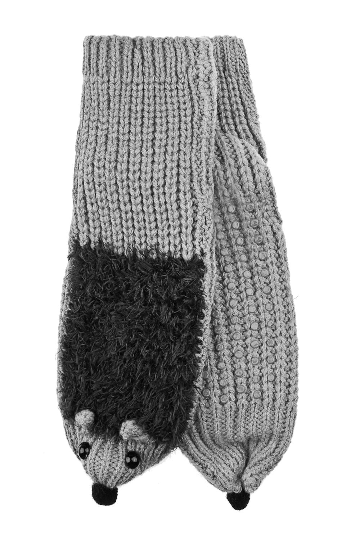Носки домашние ЕжикНоски домашние. Материал: 100% акрил. Подошва с резиновыми вставками<br>