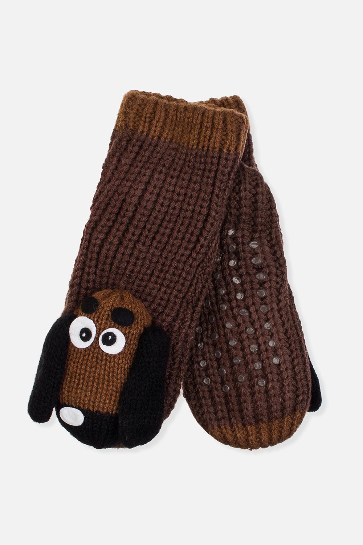 Носки домашние детские СобачкиМатериал: 100% акрил. Подошва с резиновыми вставками<br>