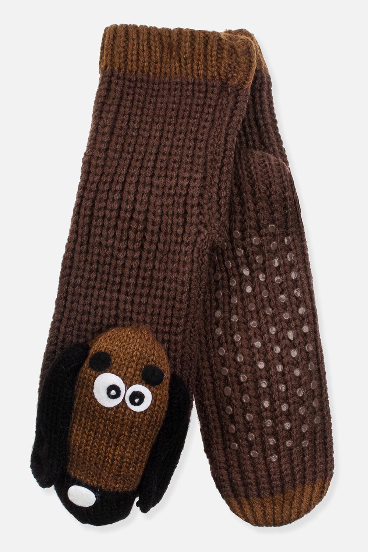 Носки домашние СобачкиПодарки на Новый год 2018<br>Материал: 100% акрил. Подошва с резиновыми вставками<br>