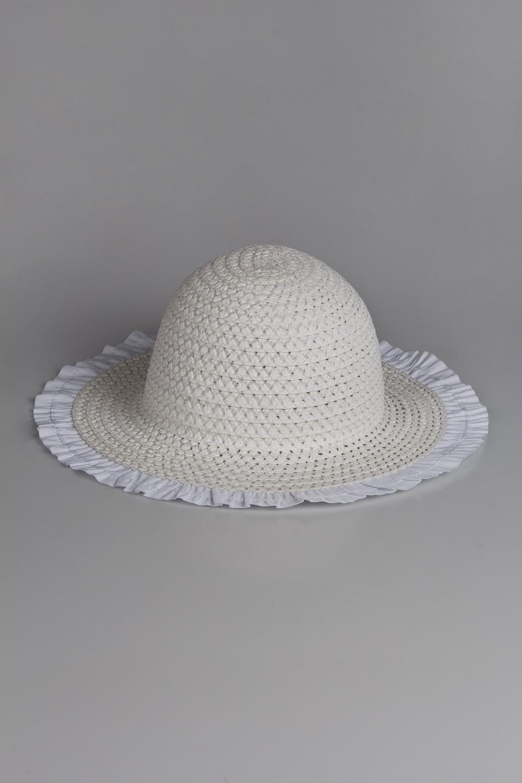 Шляпа детская ЭммаРаспродажа Black Friday<br>Шляпа детская. Состав: 100% натуральный материал; вставка - полиэстер. Размер - для детей 3-7 лет (52-54 см)<br>