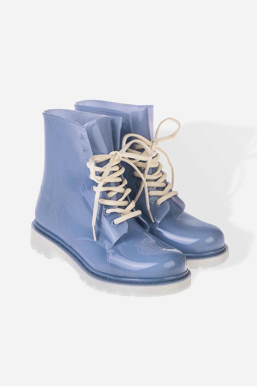 Ботинки резиновые женские РианаРаспродажа Black Friday<br>Длина  стельки - 25.5см. Материал: ПВХ<br>