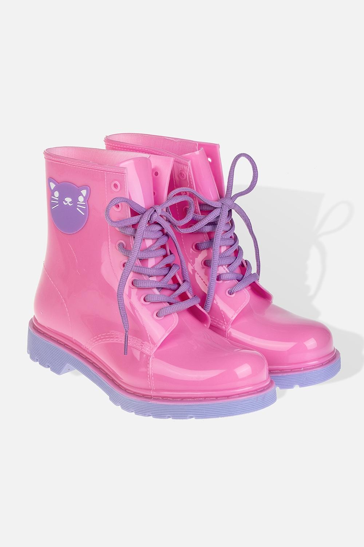 Ботинки резиновые женские КискаОдежда, обувь, аксессуары<br>Длина  стельки - 25см. Материал: ПВХ<br>