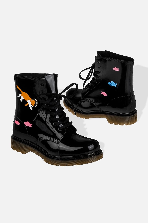 """Ботинки резиновые женские """"Аквариум"""""""