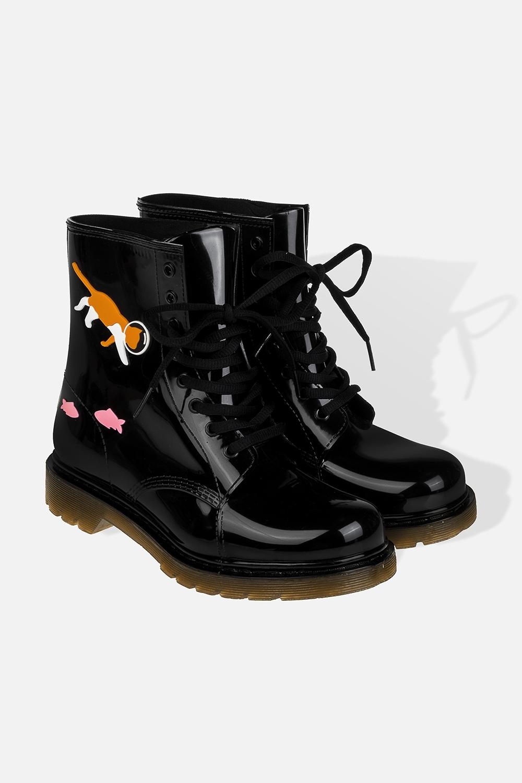 Ботинки резиновые женские АквариумОдежда, обувь, аксессуары<br>Длина  стельки - 25.5см. Материал: ПВХ<br>