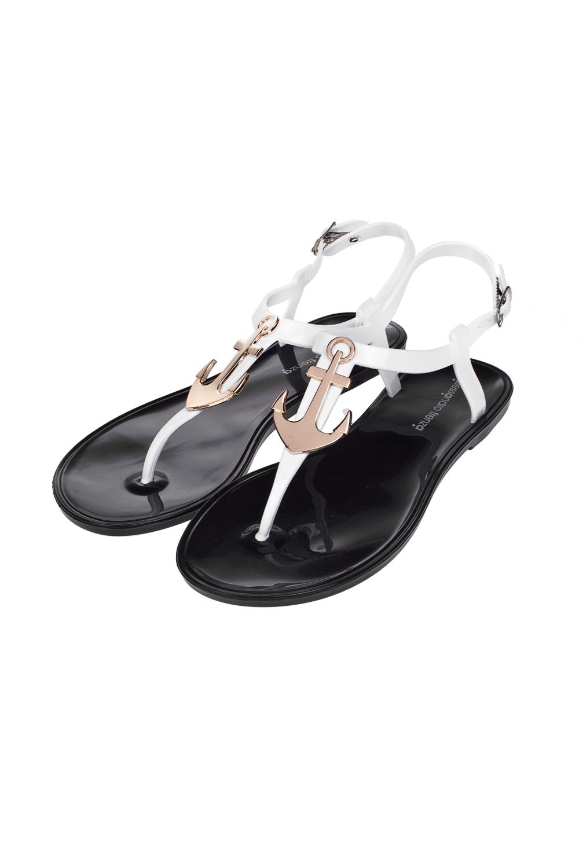 Сандалии женские СейлорОдежда, обувь, аксессуары<br>Материал: 100% ПВХ. Длина внутренней стельки - 24,5 см.<br>
