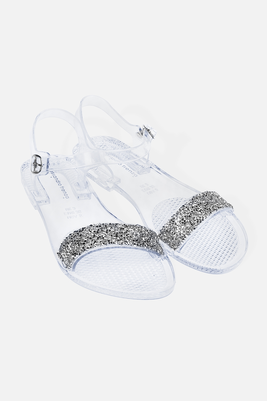 Сандалии резиновые ГлэммиОдежда, обувь, аксессуары<br>Материал: 100% ПВХ. Длина внутренней стельки - 26 см.<br>