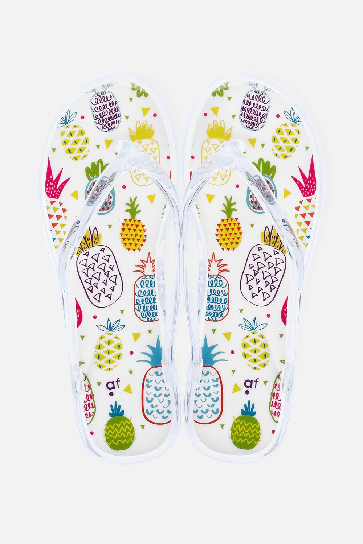 Шлепанцы резиновые ФруктыОдежда, обувь, аксессуары<br>Материал: 100% ПВХ. Длина внутренней стельки - 25 см.<br>