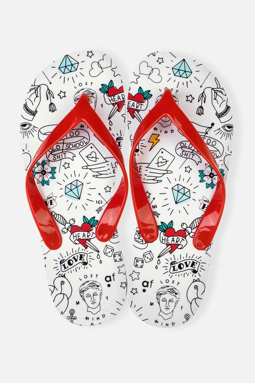 Шлепанцы женские ТатуОдежда, обувь, аксессуары<br>Материал верха: ПВХ. Материал стельки и подошвы: ЭВА. Длина стельки: 27 см.<br>