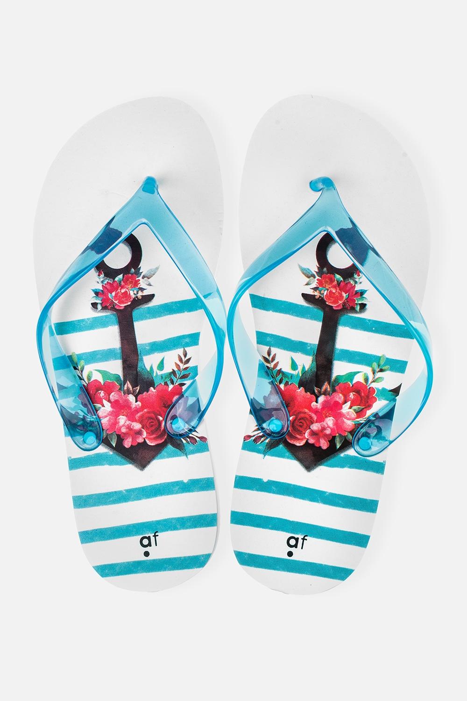 Шлепанцы женские Якорь в цветахОдежда, обувь, аксессуары<br>Материал верха: ПВХ. Материал стельки и подошвы: ЭВА. Длина стельки: 26 см.<br>