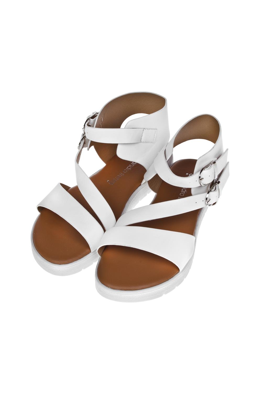 Сандалии женские МикураОдежда, обувь, аксессуары<br>Материал: искусственная кожа. Длина внутренней стельки - 23,5 см.<br>