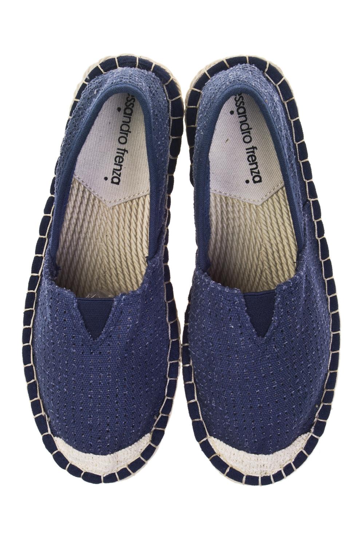 Эспадрильи женские БлюОдежда, обувь, аксессуары<br>Материал верха: текстиль. Материал стельки: текстиль. Материал подошвы: ЭВА. Длина внутренней стельки - 22,3 см.<br>