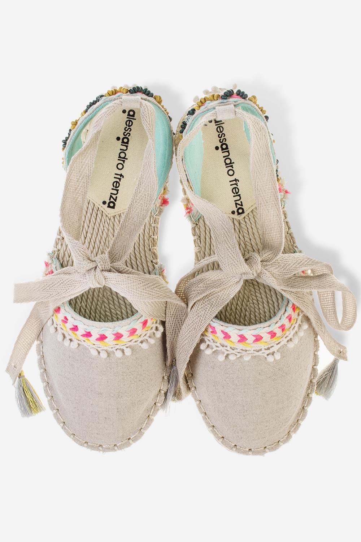 Эспадрильи женские КеллиОдежда, обувь, аксессуары<br>Материал верха: текстиль. Материал стельки: текстиль, ЭВА. Материал подошвы: ЭВА. Длина внутренней стельки - 23 см.<br>