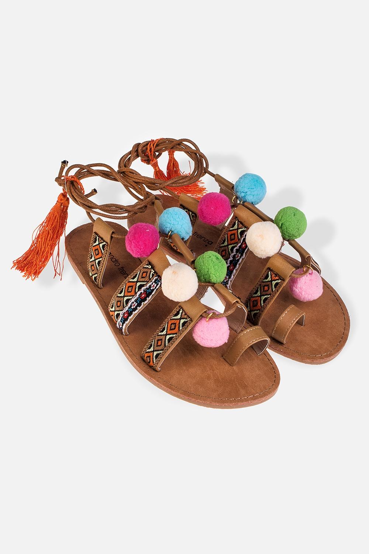Сандалии женские БрайтиОдежда, обувь, аксессуары<br>Материал: искусственная кожа, текстиль. Длина внутренней стельки - 25,7 см.<br>