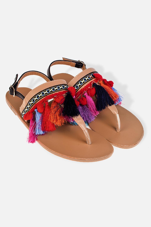Сандалии женские ТассиОдежда, обувь, аксессуары<br>Материал: искусственная кожа, текстиль. Длина внутренней стельки - 24 см.<br>