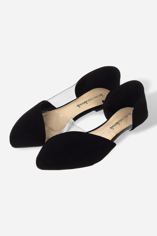 Балетки женские ПлэстиРаспродажа Black Friday<br>Материал: текстиль, искусственная кожа. Длина внутренней стельки - 23,5 см.<br>
