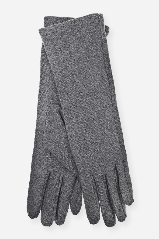 Перчатки удлиненные шерстяные ДжулияПерчатки женские удлиненные (30см).Материал: 70% шерсть, 30% акрил<br>