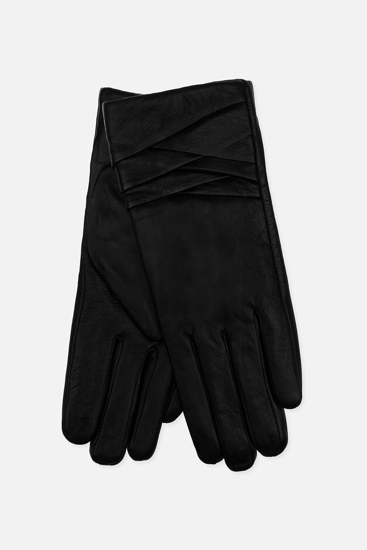 Перчатки кожаные ДориПодарки<br>Материал верха: натуральная кожа. Подкладка: полиэстер<br>