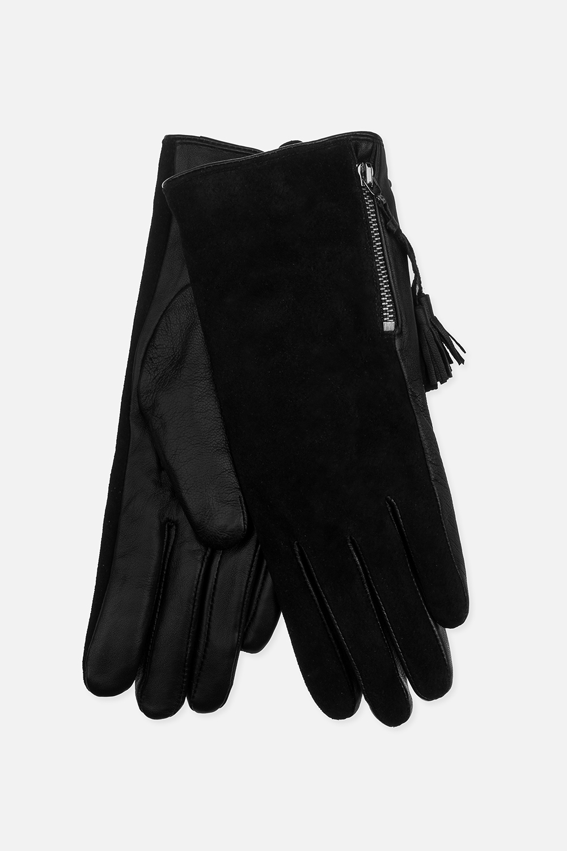 Перчатки ТэйлМатериал верха: натуральная кожа, натуральная замша. Подкладка: полиэстер<br>