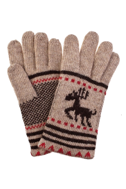 Перчатки ОлененокСостав: 80% шерсть, 20% нейлон.<br>