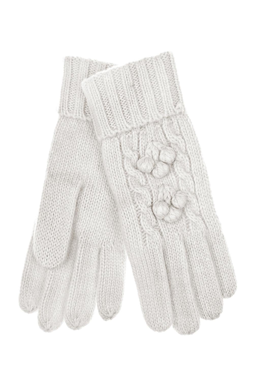 Перчатки шерстяные ДотсиСостав: 80% шерсть, 20% нейлон.<br>