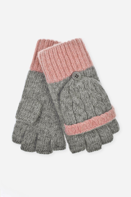Перчатки-варежки шерстяные ЛилиСостав: 80% шерсть, 20% нейлон.<br>