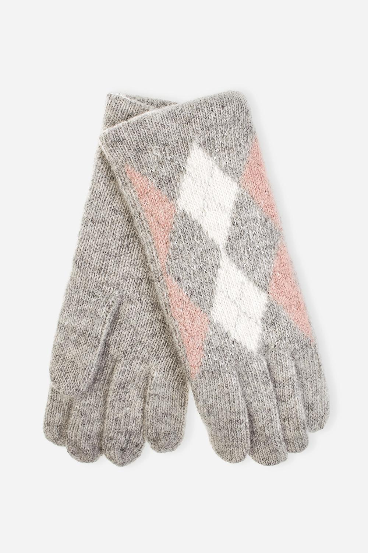 Перчатки РомбиМатериал: 70% шерсть, 20% ангора, 10% нейлон.<br>