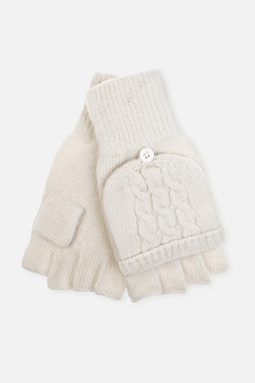 Перчатки-варежки ОливияМатериал: 80% шерсть, 20% нейлон.<br>