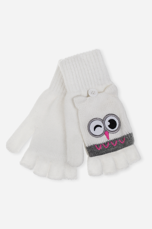 Перчатки-варежки СовуньяМатериал: 100% акрил<br>