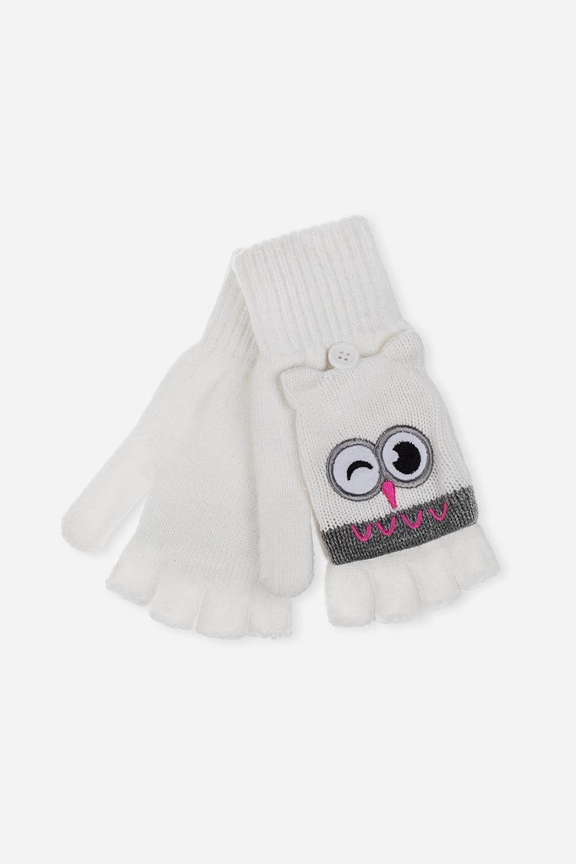 Перчатки-варежки детские СовуньяМатериал: 100% акрил<br>