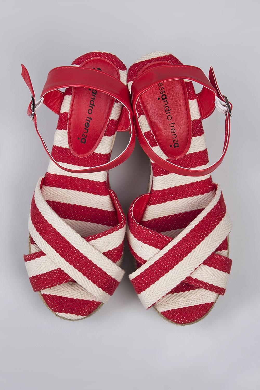 Босоножки СейлорОдежда, обувь, аксессуары<br>Материал: текстиль, джут. Подошва: резина.<br>