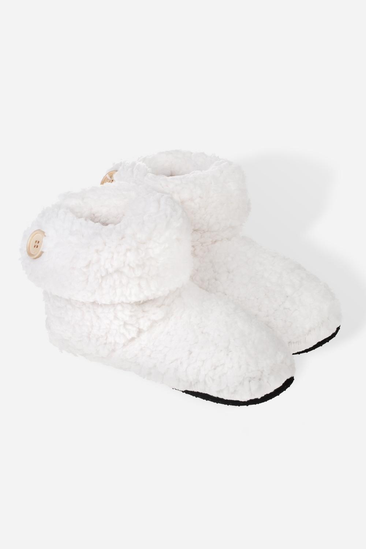 Тапочки домашние женские СофтиВысокие тапочки-сапожки домашние. Материал: 100% полиэстер. Размер: M/L (39-41)<br>