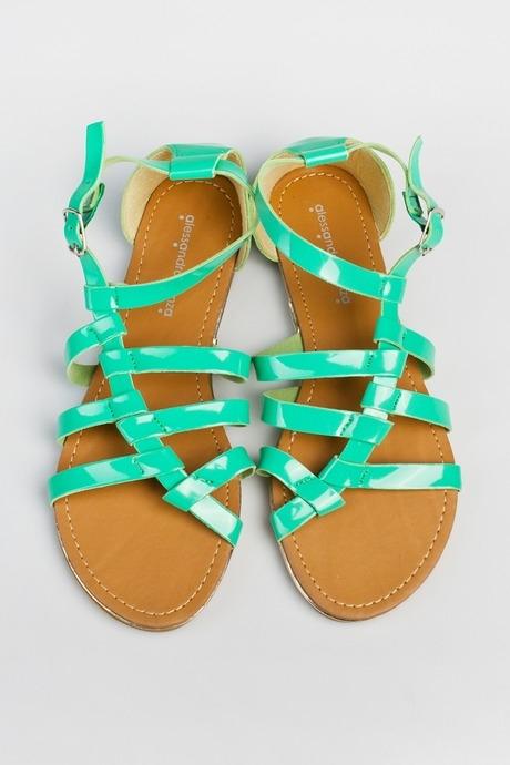 Сандалии женские СанториниОдежда, обувь, аксессуары<br>Материал: эко-кожа.<br>