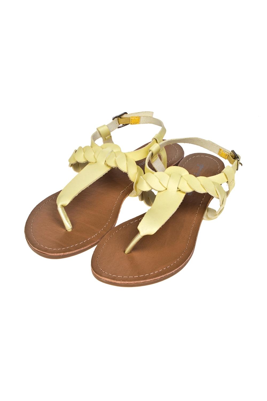 Сандалии женские КорфуОдежда, обувь, аксессуары<br>Материал: эко-кожа. Длина внутренней стельки - 25,5 см.<br>