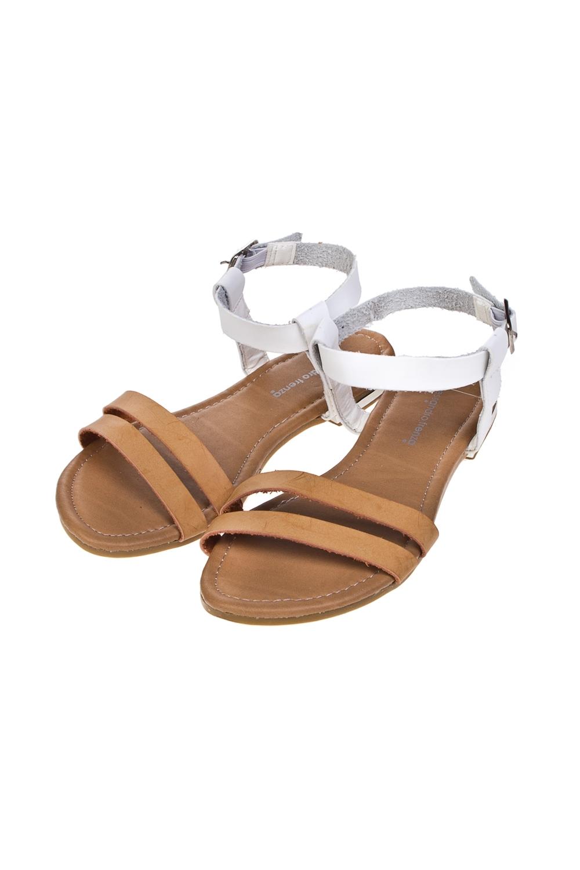Сандалии женские СидариОдежда, обувь, аксессуары<br>Материал: искусственная кожа. Длина внутренней стельки - 26 см.<br>