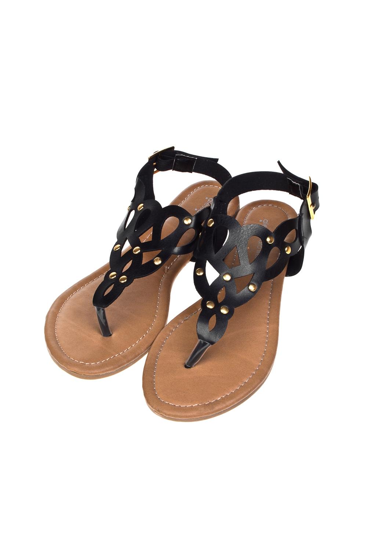 Сандалии женские ДассияОдежда, обувь, аксессуары<br>Материал: искусственная кожа. Длина внутренней стельки - 26 см.<br>